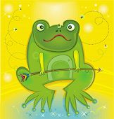 Funny frog.To see similar,  please VISIT MY PORTFOLIO