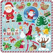 All Christmas symbols in one set!