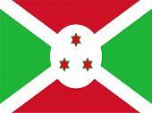 Burundi National Flag