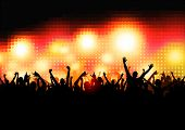 picture of party people  - Crowd of Party People  - JPG