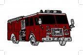 Fire Truck.Eps