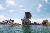 Thailand, National park Ta Ru Tao. Koh Hin Sorn.