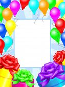 Decoration card for birthday and party