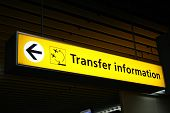 Airport Transfer Sign