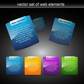 pic of text-box  - website elements design elements label - JPG