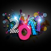 abstract new year illustration vector