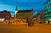 Freedom Square In Brno.