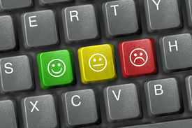 image of smiley face  - Keyboard close - JPG