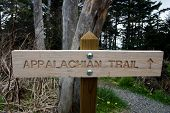 Sign - Appalachian Trailhead North Carolina