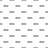 Heavy Truck Pattern. Simple Illustration Of Heavy Truck Pattern For Web poster