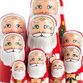 Santa Claus Family Portrait