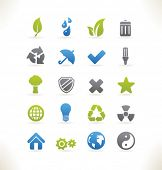 Set of beautiful web icons vol.6 Ecology