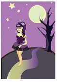 La chica gótica