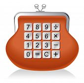 purse calculator.financial operations
