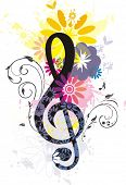 Beautiful Treble Clef