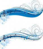 winter musical banner