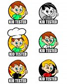 Kid Tested seals for children's products