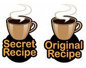 Original / Secret Recipe Seal / Mark / Icon