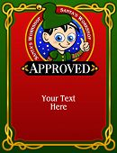 Santa's Elf Approval Card / Diploma