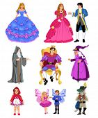 picture of thumbelina  - fairytale characters - JPG