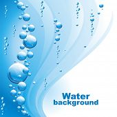 Water background.(vector illustration)