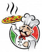 Illustration of an italian cartoon (raster version)