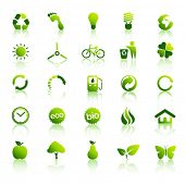 Medio ambiente icons set 2