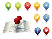 GPS Icon set