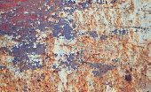 Abstract Textured Rust Metal Surface Background. Abstract Background Rusty Surface. Grunge Backgroun poster