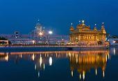 Golden Temple in Amritsar - the main shrine of Sikhs