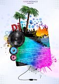 Template colour background. Vector