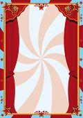 foto of arriere-plan  - Circus curtain - JPG