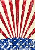 image of arriere-plan  - Dirty american flag A dirty american flag for a background - JPG
