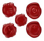 Wax Seals 3D