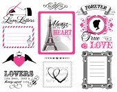 Design elements - St. Valentine's Day
