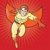 Generic Cartoon Super Hero