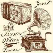 Musik-Kritzeleien