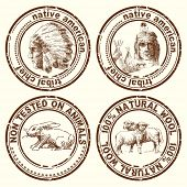 stamps-indian chief
