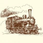 pic of loco  - steam locomotive - JPG