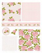 Classic design Elements for scrap-booking, greeting cards, wallpaper, textiles, stencils all pattern