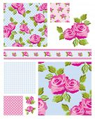 Classic design Elements for scrap booking, greeting cards, wallpaper, textiles, stencils all pattern