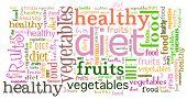 Textcloud: diet