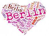 Love heart of  Berlin