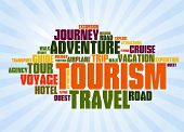 Wordcloud of turism