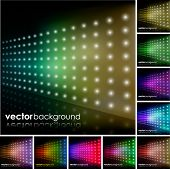 Colorful Lighting Effect Background Set