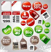 Sale icons and different product labels package (easy editable, see also other icons in my portfolio
