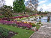 Garden At Kensington Palace, London