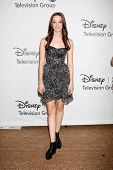 LOS ANGELES - JUL 27:  Emma Dumont arrives at the ABC TCA Party Summer 2012 at Beverly Hilton Hotel