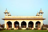 image of khas  - Hall of Private Audience or Diwan I Khas at the Lal Qila  - JPG