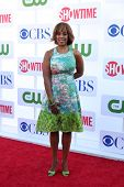 LOS ANGELES - JUL 29:  Gayle King arrives at the CBS, CW, and Showtime 2012 Summer TCA party at Beve